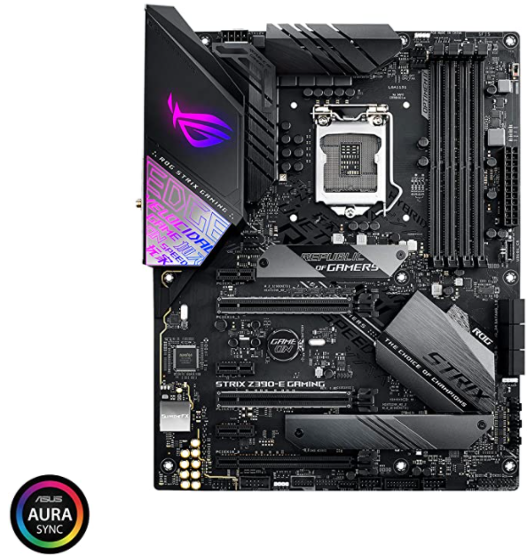 Asus ROG Strix Z390-E Gaming Motherboard LGA1151