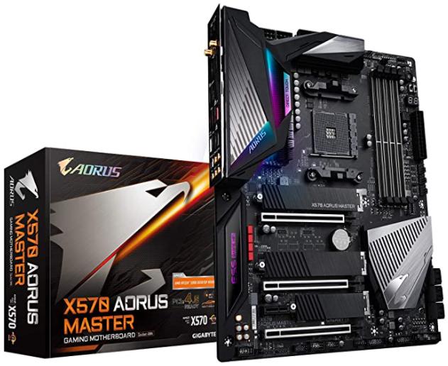 Gigabyte X570 Aorus Master