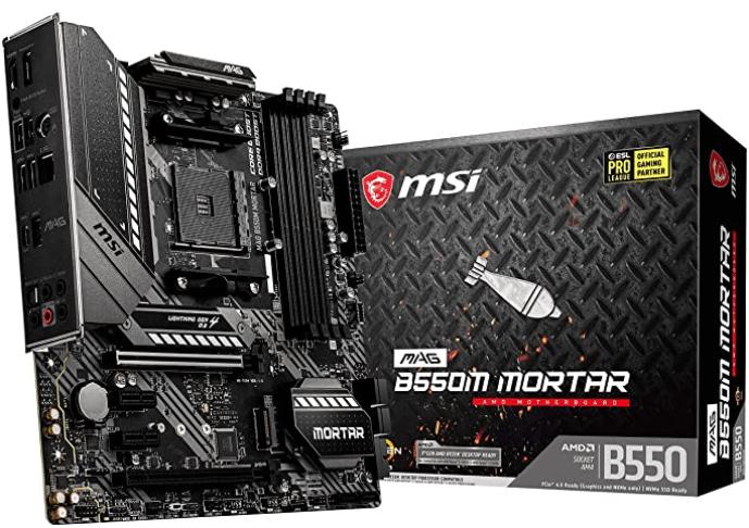 MSI MAG B550M Mortar Gaming