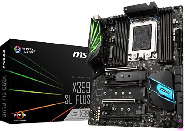 MSI MEG X399 Creation