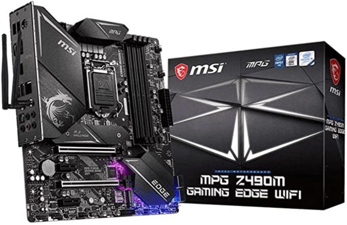 MSI MPG Z490M Gaming Edge Wi-Fi Gaming Motherboard