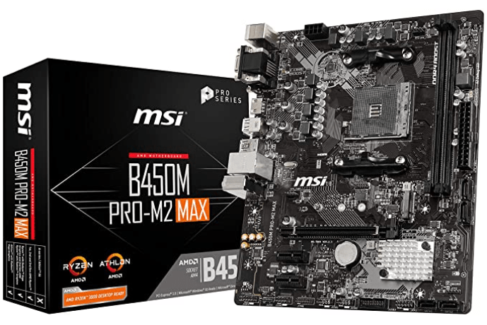 MSI ProSeries B450M PRO-M2 Max