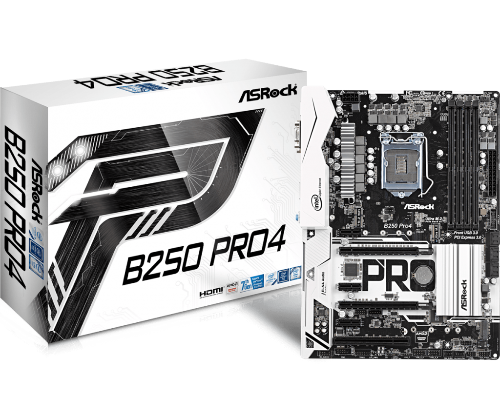 ASRock B250 Pro4 Review