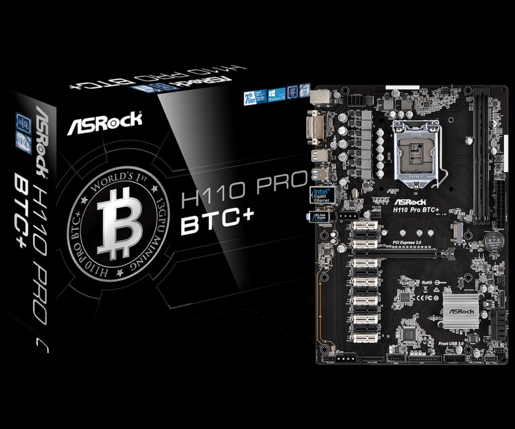 ASRock H110 Pro BTC+ Review