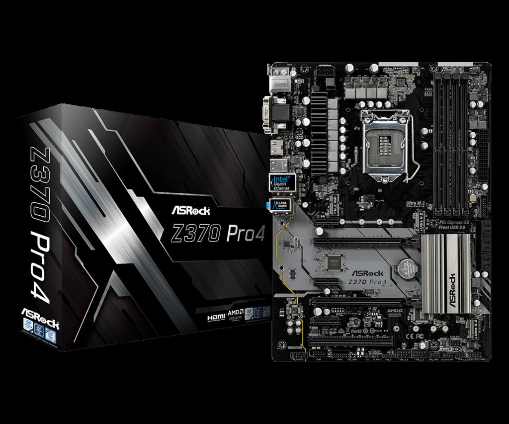 ASRock Z370 Pro4 Review