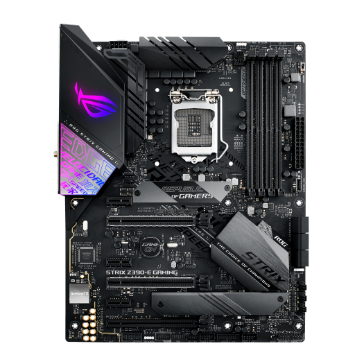 ASUS ROG Strix Z390-E Gaming Review