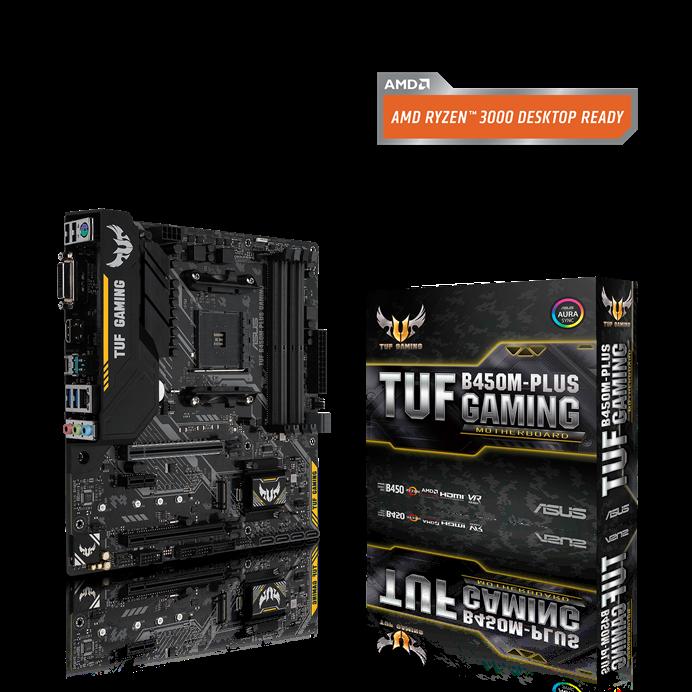 ASUS TUF B450M-Plus Gaming Review