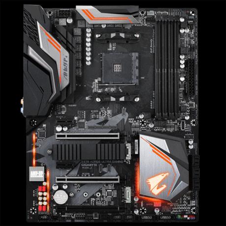 Gigabyte X470 AORUS Ultra Gaming Review