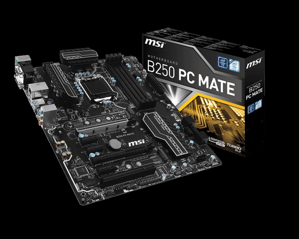 MSI B250 PC Mate Review