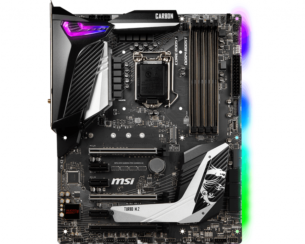 MSI MPG Z390 Gaming Pro Carbon AC Review